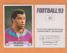 Aston Villa Paul McGrath Eire 20